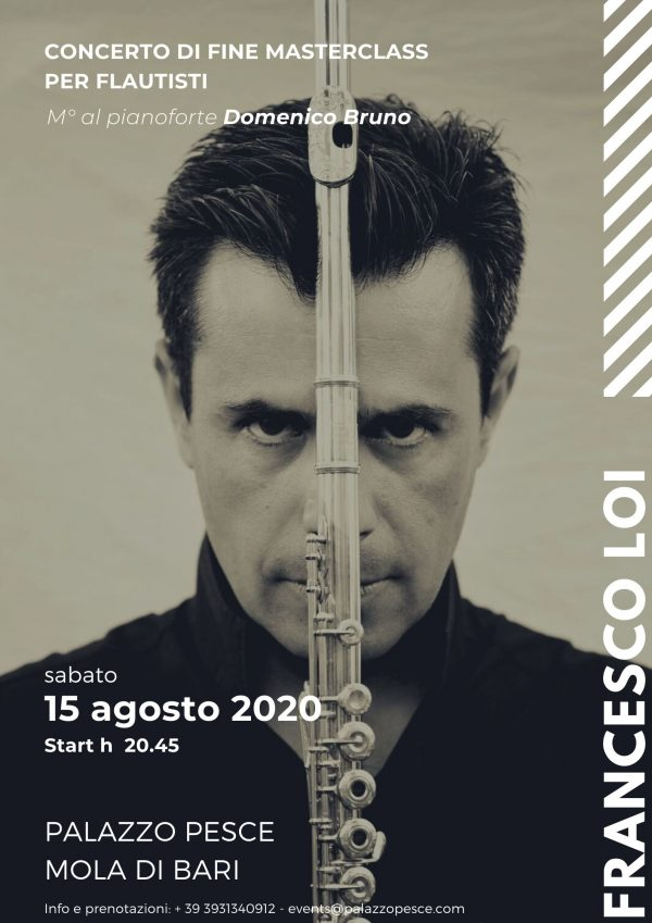 Recital flauto Francesco Loi