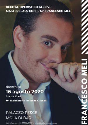 Concerto Masterclass con Francesco Meli