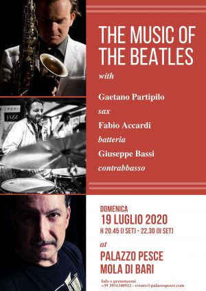 the music of the beatles 19 luglio a palazzo pesce