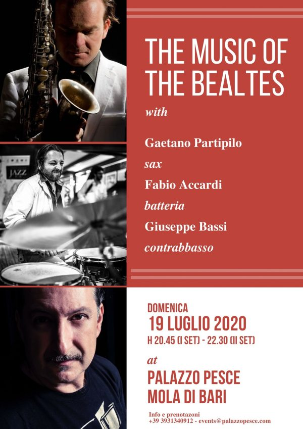 The music of the beatles a palazzo pesce