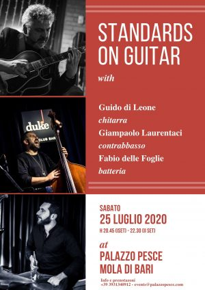 standards on guitar a palazzo pesce