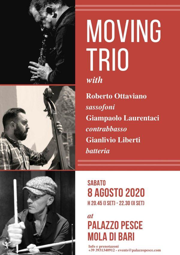 Moving Trio a Palazzo Pesce