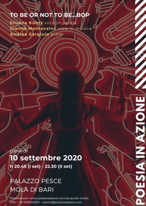 10 settembre 2020 To be or not to be...bop! Palazzo Pesce
