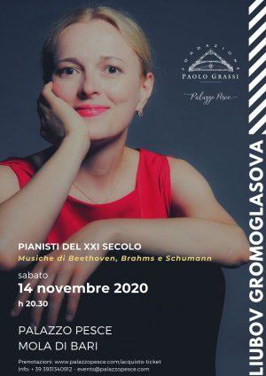 Liubov Gromoglasova Piano Recital