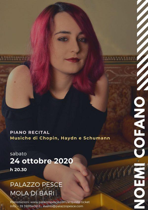 Noemi Cofano Piano Recital