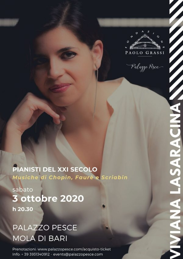 Viviana Lasaracina piano recital