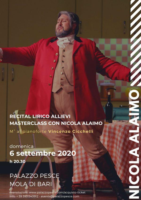 Recital lirico Nicola alaimo Palazzo Pesce