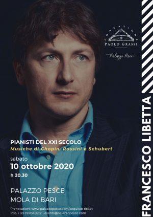 Francesco Libetta Piano recital a palazzo pesce