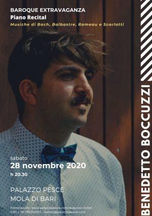 Baroque Extravaganza [Benedetto Boccuzzi Piano Recital]