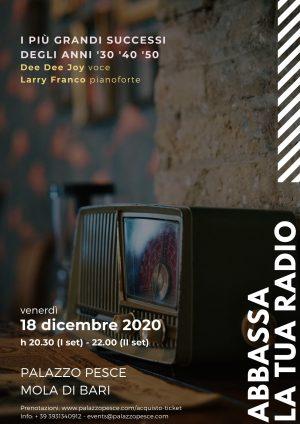 Abbassa la tua radio 18 dicembre 2020