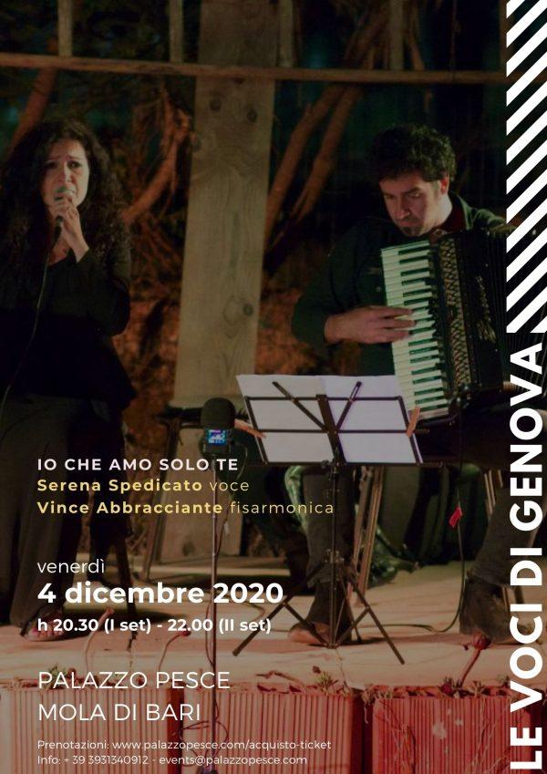 Le voci di Genova a Palazzo Pesce