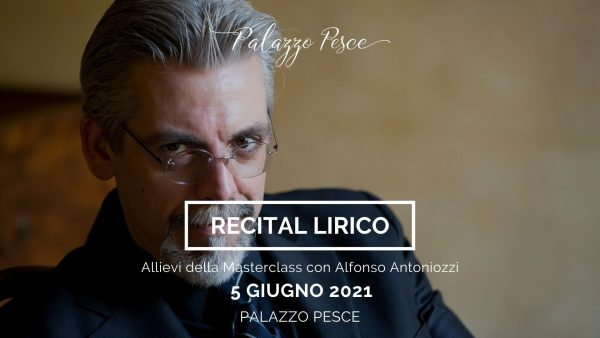Recital lirico Alfonso Antoniozzi