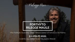 Vito Forthyto rilegge maule 9 luglio a palazzo pesce